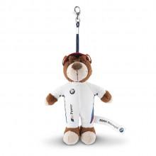 Брелок для ключей BMW Motorsport Teddy Key Ring 80272318273