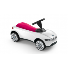 Детский автомобиль BMW Baby Racer III, White / Raspberry Red 80932413784