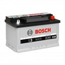 Аккумулятор 6CT-70 BOSCH S3 0092S30070 полярность (0)