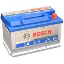Аккумулятор 6CT-72 BOSCH S4 Silver 0092S40070 полярность (0)