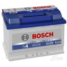 Аккумулятор 6CT-74 BOSCH S4 Silver 0092S40090 полярность (1)