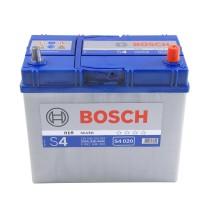 Аккумулятор 6CT-45 BOSCH S4 Silver 0092S40200 полярность (0) ASIA (J) тонкая клема