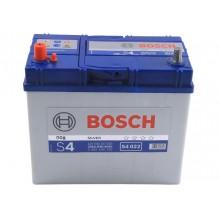 Аккумулятор 6CT-45 BOSCH S4 Silver 0092S40220 полярность (1) ASIA (J) тонкая клема