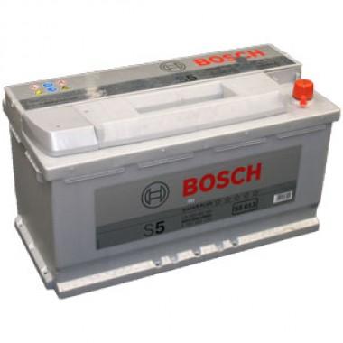 Аккумулятор 6CT-100 BOSCH S5 Silver Plus 0092S50130 полярность (0)
