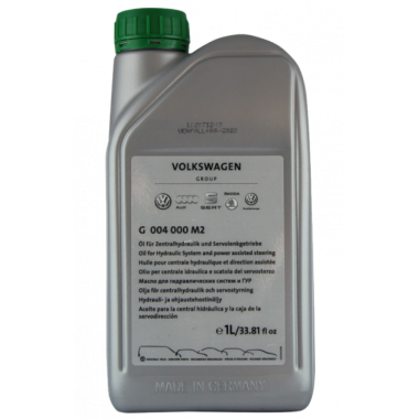 Жидкость гидроусилителя VW G004000M2 1л.