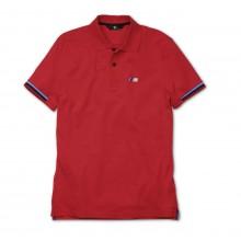 Мужская рубашка-поло BMW M Men's Polo Shirt Red 80142344339