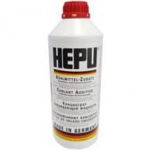 Антифриз HEPU красный концентрат 1.5л