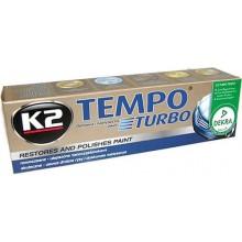 Восковая паста для полировки кузова K2 TEMPO K001