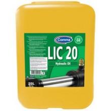 Масло гидравлическое COMMA LIC20 HYDROIL 25L